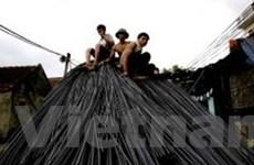 Báo động mất an toàn lao động ở làng thép Đa Hội