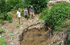 Xác định được nguyên nhân sụt lún đất tại Phú Thọ