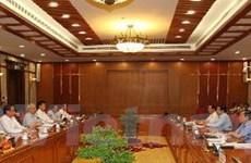 Bộ Chính trị cho ý kiến về phát triển kinh tế - xã hội