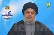 Thủ lĩnh của Hezbollah bất ngờ xuất hiện công khai