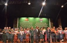 Gặp mặt các quân nhân Campuchia từng học tại VN