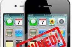Tin tặc phát hiện iPhone có lỗi bảo mật nguy hiểm