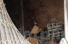 5 người thoát chết trong một vụ cháy lúc rạng sáng