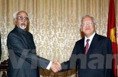 Phó Tổng thống Ấn Độ thăm Thành phố Hồ Chí Minh