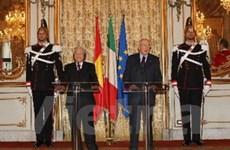 Lễ kỷ niệm 40 năm thiết lập quan hệ Việt Nam-Italy