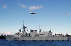 Tàu khu trục Halifax của Canada cập cảng Philippines