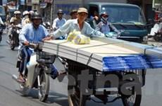 TP.HCM cấm xe thô sơ 3 bánh lưu thông ở trung tâm