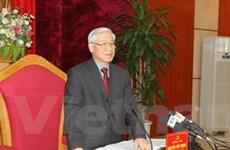 Tổng Bí thư làm việc tại hai tỉnh Phú Thọ, Vĩnh Phúc