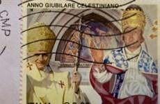 """Vatican phát hành bộ tem """"trống ghế giáo hoàng"""""""