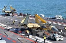 TQ thử nghiệm biển xa đối với tàu sân bay Liêu Ninh