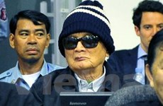Thủ lĩnh Khmer Đỏ Nuon Chea đủ sức khỏe hầu tòa