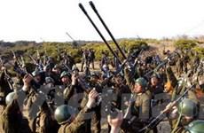 Triều Tiên tăng hoạt động tại các trận địa tên lửa