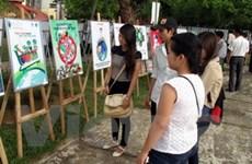 Trao giải cuộc thi sáng tác tranh cổ động môi trường