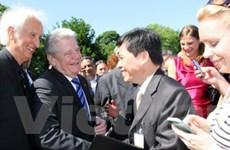 Nhà khoa học Việt Nam gặp Tổng thống CHLB Đức