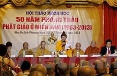 Nhìn lại 50 năm phong trào Phật giáo ở miền Nam