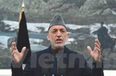 Tổng thống Afghanistan ký ban hành luật bầu cử mới