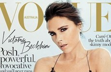 Victoria Beckham gợi cảm trên Vogue Australia