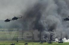 Nga-Trung tổng kết tập trận Sứ mệnh hòa bình 2013