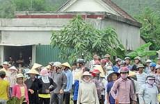 Nghệ An: Họp báo về vụ việc tại Giáo họ Trại Gáo