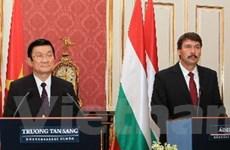 Việt Nam-Hungary tăng cường hợp tác song phương