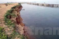 Ngăn chặn việc khai thác cát trái phép trên sông Lam
