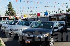 Doanh số bán xe Toyota tụt xuống vị trí thứ ba tại Mỹ