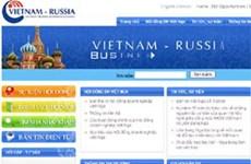 Ra mắt cổng thông tin thương mại Việt-Nga