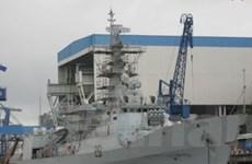 Trung Quốc bàn giao tàu khu trục cho Pakistan