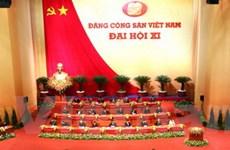 Các đảng và tổ chức quốc tế điện mừng Đại hội XI