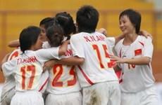 Vòng sơ loại vô địch nữ châu Á: Việt Nam vô đối