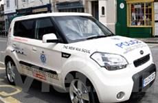 KIA Soul được dùng làm xe cảnh sát ở Anh