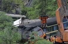 Tai nạn đường sắt làm gần 60 người thương vong