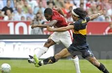 Valencia tỏa sáng đưa MU vào chung kết Audi Cup