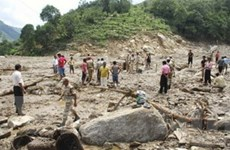 Lở đất do mưa lớn ở Ấn Độ làm 46 người chết