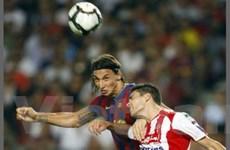 """Ibrahimovic """"khai hỏa"""", Barca khởi đầu suôn sẻ"""