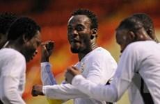 Ghana chính thức giành vé đến Nam Phi