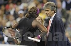 Lăng mạ trọng tài, Serena từ giã US Open