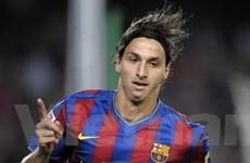 Ibrahimovic không chịu áp lực ghi bàn cho Barca