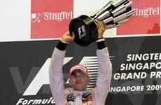 Hamilton chiến thắng tại Grand Prix Singapore