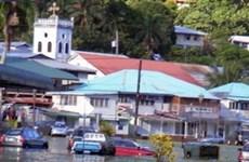 """Mỹ tuyên bố """"thảm họa lớn"""" do sóng thần ở Samoa"""