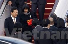 Thủ tướng Nhật Bản Hatoyama thăm Trung Quốc