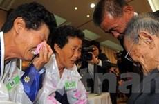Đàm phán liên Triều về đoàn tụ gia đình bị ly tán