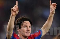 Messi dẫn đầu các đề cử quả bóng Vàng châu Âu