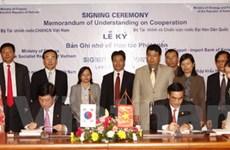 Bộ Tài chính tăng cường hợp tác với Hàn Quốc