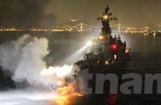 Tàu khu trục của Nhật Bản va vào tàu Hàn Quốc