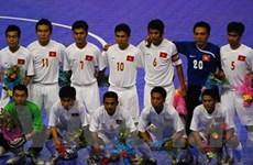 Bóng đá futsal mở màn Asian Indoor Games III