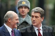 Tổng thống Belarus thăm Ukraine lần đầu sau 5 năm