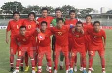 Việt Nam đứng thứ 3 bảng E vòng loại U19 châu Á