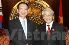 Chủ tịch Quốc hội Việt Nam và Hàn Quốc hội đàm
