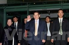 Chủ tịch nước Nguyễn Minh Triết thăm Singapore